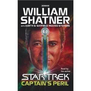 Star Trek Captains Peril [Audio Cassette] William Shatner Books