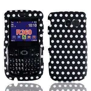 For Straight Talk Samsung R375C Accessory   Polka Dots