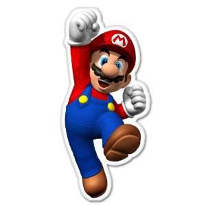 Super Mario HUGE Nintendo car decal sticker 5 x 12