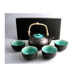 Japanese Cherry Blossom Tree Tea Set (1 pot & 4 cups)
