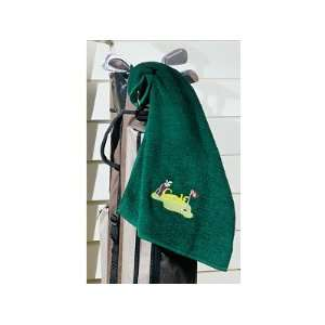 Fathers Day Gifts Green Golf Towel