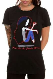 Adventure Time Marceline Girls T Shirt Clothing