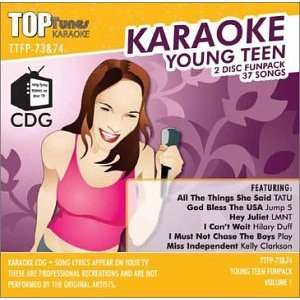 Karaoke Young Teen Top Tunes TTFP 73&74 Music