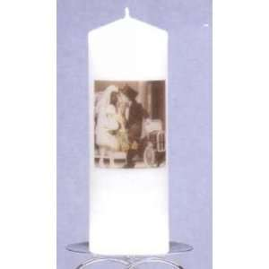 Kim Anderson Unity Candle, White Everything Else
