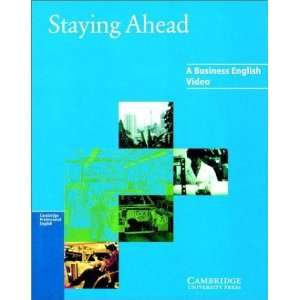 Staying Ahead Video VHS PAL [VHS Tape] Andrew Bampfield Books