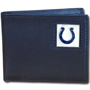 NFL Boxed Bifold Leather Wallet in Tin   Indianapolis