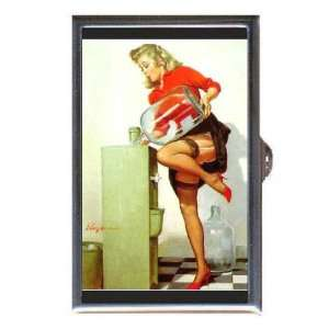 PIN UP GIRL OFFICE WATER COOLER Coin, Mint or Pill Box