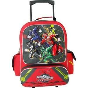 Backpack   Full Size Power Rangers Wheeled Backpack  Top Rescue Toys