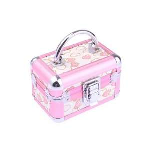 Pink Square Jewelry Display Storage Jewelry Box Case Home Jewelry