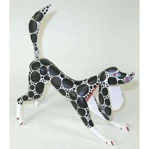 Dalmation Oaxacan Wood Carving 7.25 Inch  Home & Kitchen