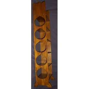 Wood holder for 2 litre bottles Home & Kitchen