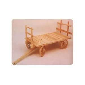 Hay Wagon Plan (Woodworking Project Paper Plan)