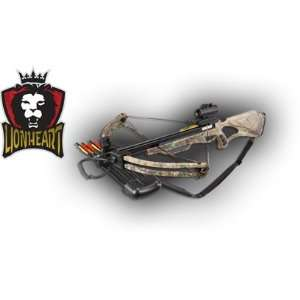 Velocity Lionheart Compound Crossbow, Black Sports