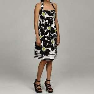 GLAMOUR HALTER STRETCH DRESS WOMENS 14: Everything Else