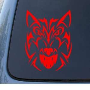 WOLF HEAD   Twilight   Vinyl Car Decal Sticker #1239  Vinyl Color