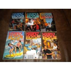 Lot of 6 The Hardy Boys Casefiles Set ~ Witness to Murder, Danger Zone