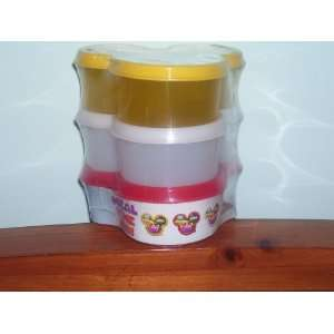 Disney Mickey Mouse Club House Plastic Food Containers