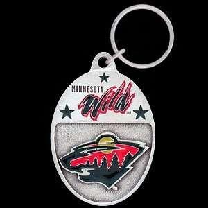 Minnesota Wild Team Key Ring   NHL Hockey Fan Shop Sports Team