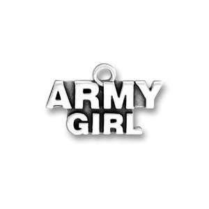 Army Girl Charm