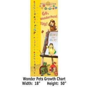 Wallpaper Brewster Nick Kids Wonder Pets growth chart