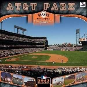 San Francisco Giants Stadium 2012 Wall Calendar