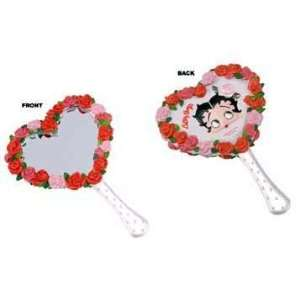 Betty Boop Bed of Roses Hand Mirror Home & Kitchen