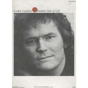 Lightfoot Summer Side of Life [Songbook] Gordon Lightfoot Books