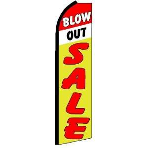 BLOW OU SALE X Large Swooper Feaher Flag