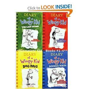 Diary of a Wimpy Kid, Books 1 4 Diary of a Wimpy Kid, Rodrick Rules