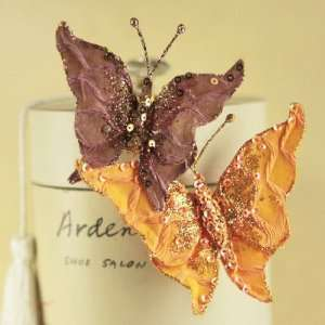 Butterfly Kiss W/Metal Clip 2/Pkg