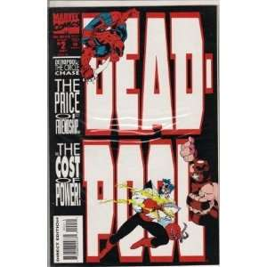 Dead Pool The Circle Chase Second Issue Comic Book