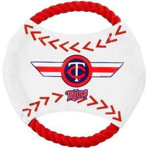 MLB Minnesota Twins Flying Rope Disk Dog Toy  Sports