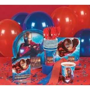 Iron Man 2 Basic Party Pack   8 Piece  Toys & Games