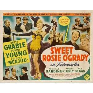 Sweet Rosie OGrady Poster Movie Half Sheet (22 x 28