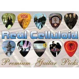 Rush Premium Guitar Picks X 10 (TR)