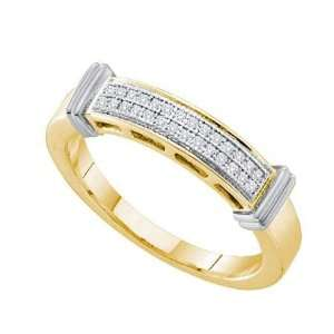 0.08cttw Diamond Micro Pave Band ( Size 7 H I Color, I1 I2