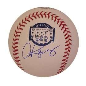 Yankee Stadium Final Season Ball. MLB Authenticated Everything Else