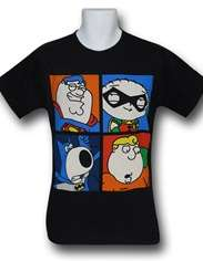Family Guy Phone Booth Change T Shirt