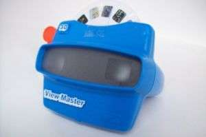 VIEW MASTER 3D BLUE Fisher Price 1998 + 1 Reel