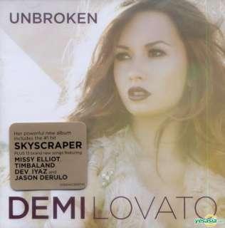 YESASIA: Unbroken CD   Demi Lovato, Universal Music (HK)   Western