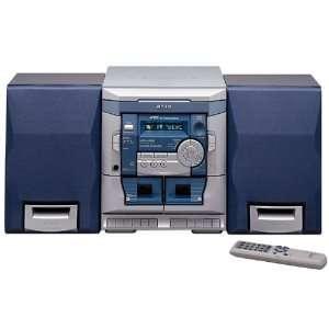Aiwa NSX AJ100 Compact Stereo System Electronics