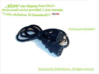 NEW AC Power Cord Cable For GATEWAY DESKTOP PC COMPUTER