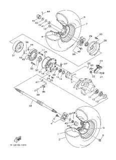 OEM Parts Yamaha BIG BEAR 4WD YFM40FHN BIG BEAR 4WD REALTREE X TRA