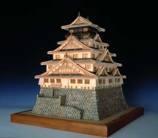 Osaka Castle Wood Japanese Model Kit Japan