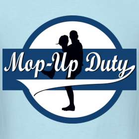 Mop Up Duty Logo, Standard T Shirt  Mop Up Duty