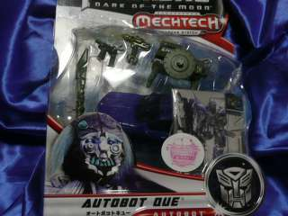 Dark Of The Moon Mech Tech DA31 Autobot QUE Transformers japan