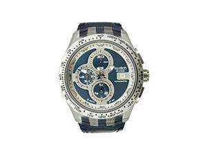 Swatch Irony Chrono Automatic Right Track Blue Dial Mens