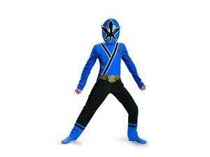 Power Ranger Blue Ranger Samurai Classic Child Costume