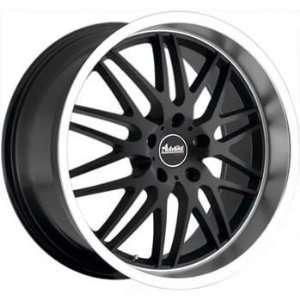 Advanti Racing Kudos 18x8 Black Wheel / Rim 5x4.5 with a 40mm Offset