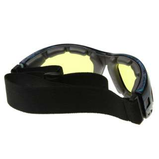 Active Multi Purpose Riding/Sports Goggles (Clear/Yellow/Smoke Lens